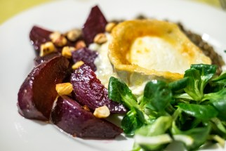 Smoked beetroot