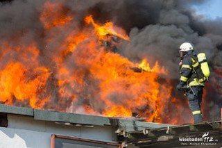 Großbrand Oestrich-Winkel 13.02.18