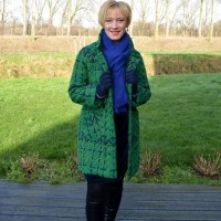 Beauty 'n Fashion: Green winter coat