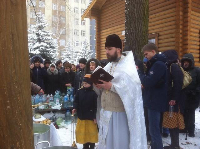 Крещение Господне - 2018. The Epiphany. Kyiv. Kazan temple