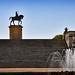 Chantilly , statue équestre d'Anne de Montmorency 3/3
