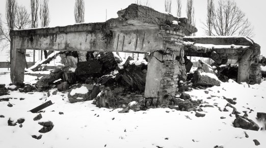 Destroyed Gas Chamber