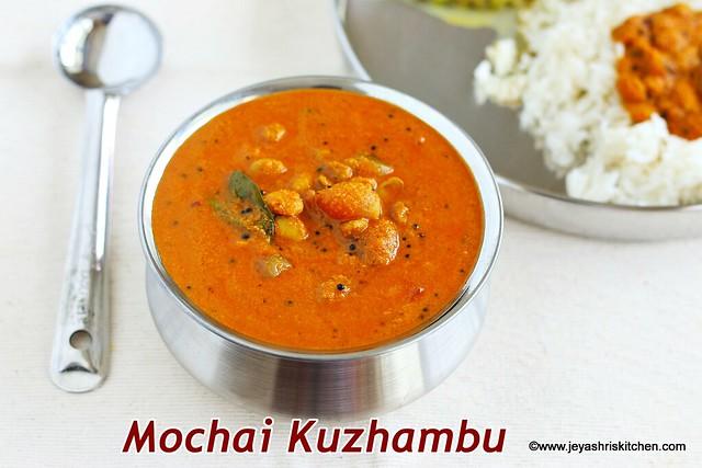 Mochai-kuzhambu
