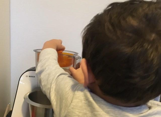 zelf sinaasappelsap persen Ja-dag