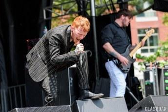 Frank Carter and the Rattlesnakes @ Shaky Knees Music Festival, Atlanta GA 2017