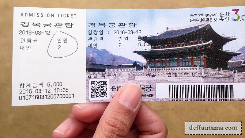 5 hari di Seoul - Gyeongbokgung Ticket