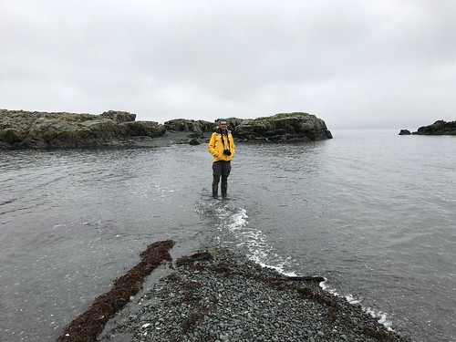 Nanaimo - Pierre in the ocean