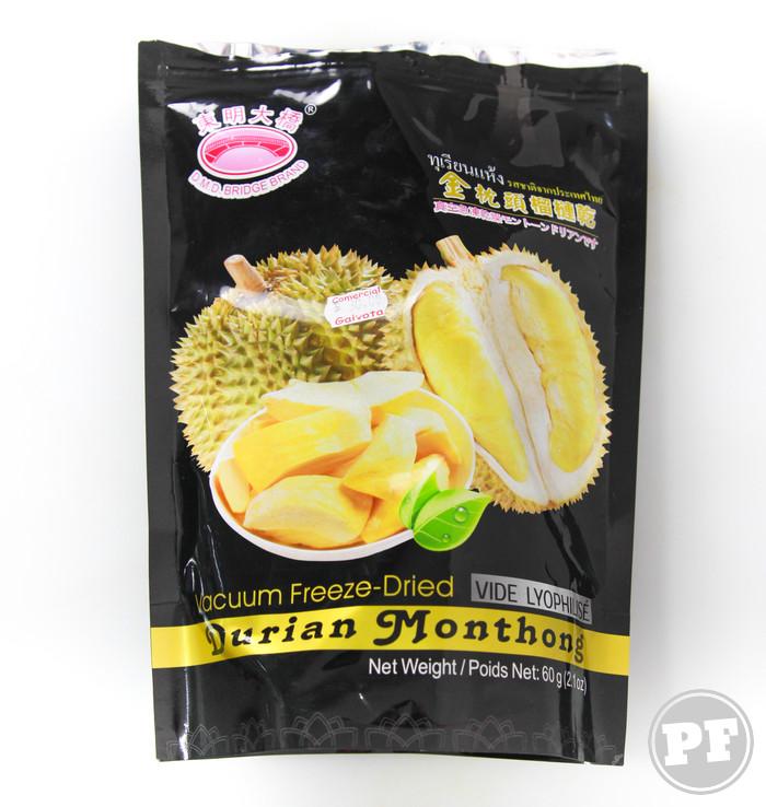 Durian Liofilizado por PratoFundo.com