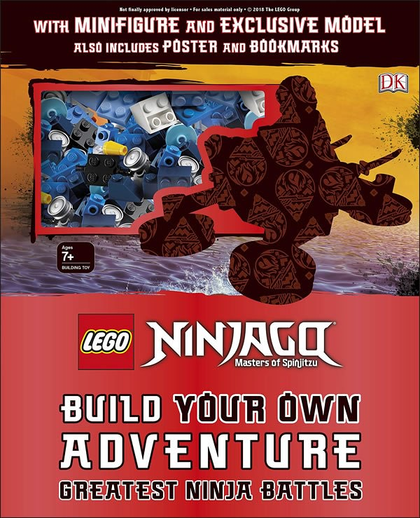 Ninjago Build Your Own Adventure: Greatest Ninja Battles