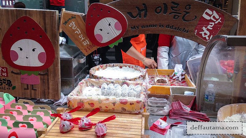 5 hari di Seoul - Strawberry Mochi