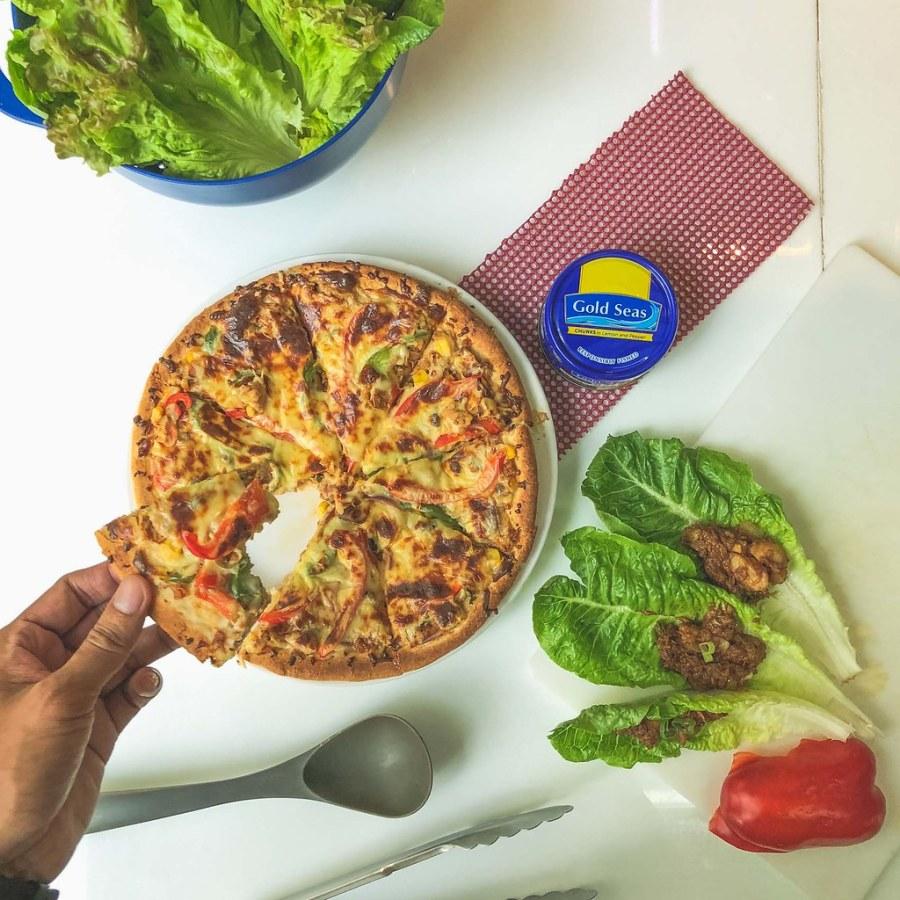 Gold Seas Tuna Chunks Tuna Pizza (4 of 4)