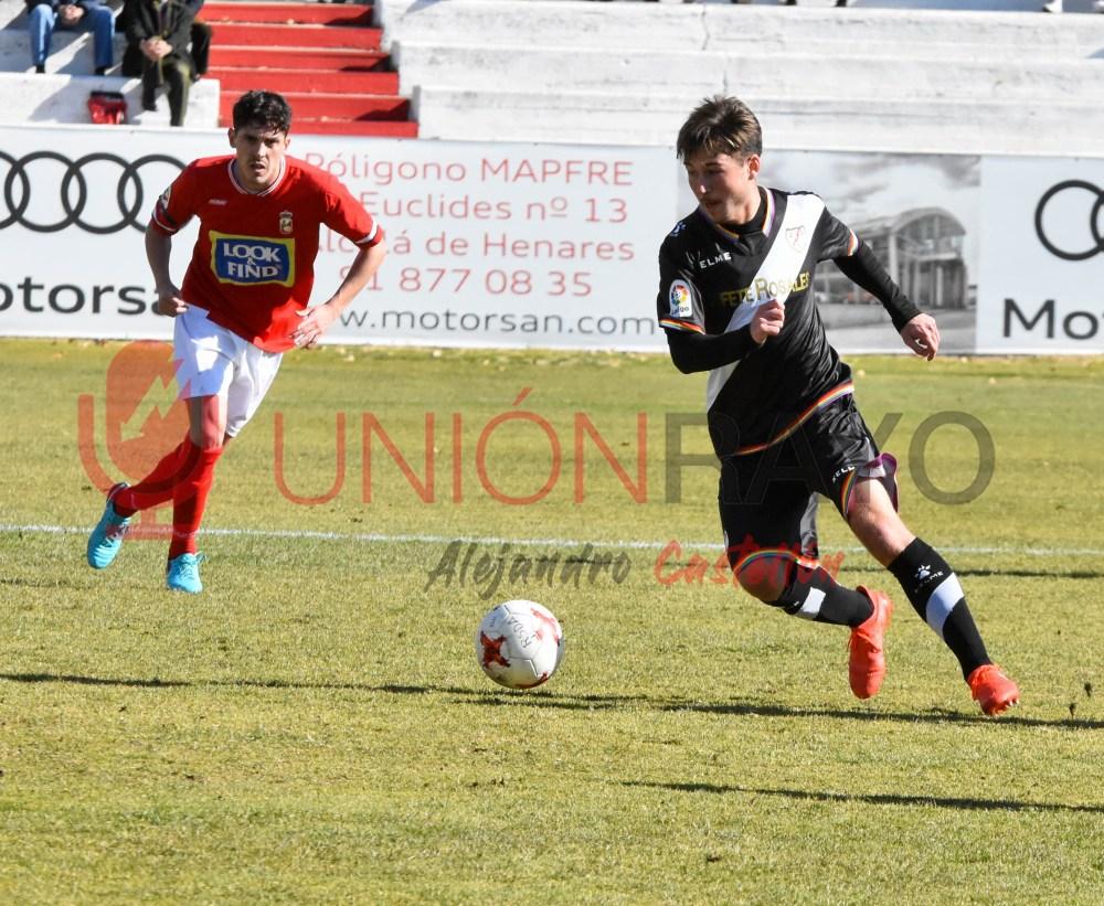 RSD Alcalá 1-1 Rayo Vallecano B