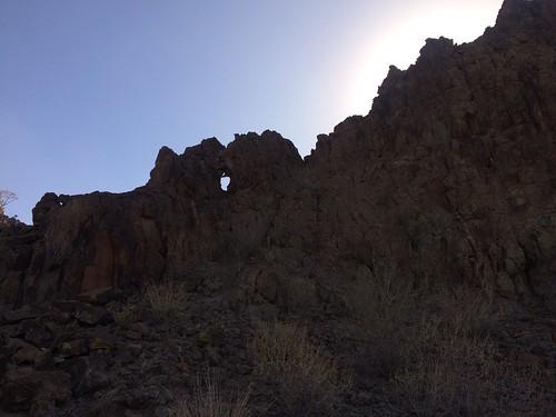 BGAFR -  gate 9 hole in a rock