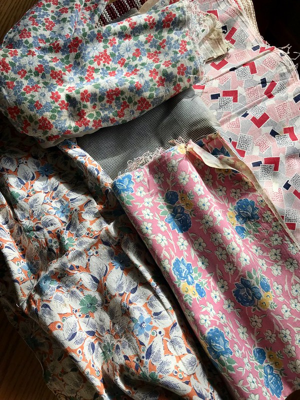 Vintage Fabric SKOR!