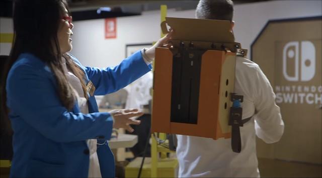 Nintendo Labo - Robot IR Pegatinas