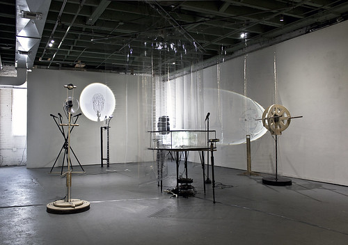 During the show, sound-triggered tools were opened to the public to use freely as an open mic.