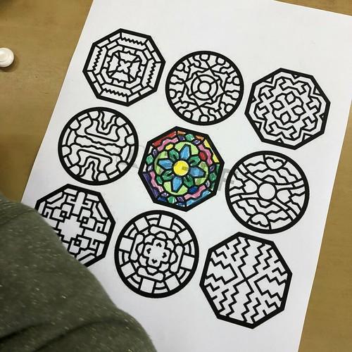 단청무늬 색칠공부 & 장식 만들기