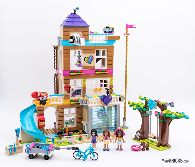 REVIEW LEGO Friends 2018 - LEGO 41340 Friendship House