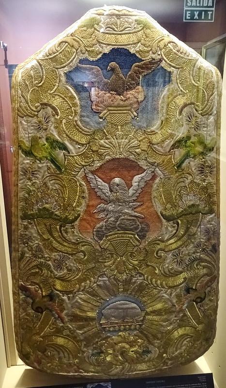 Cartuja Santa Maria Miraflores Museo casullas antiguas Burgos a03
