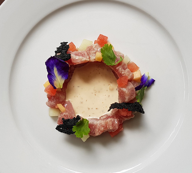 Tuna and Melon Tartare