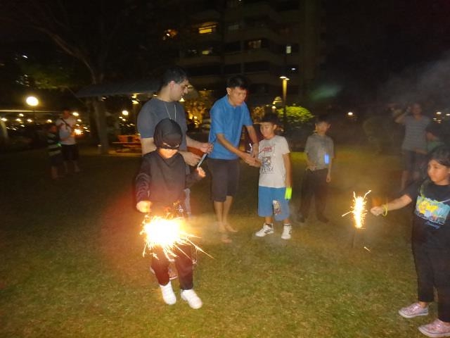 Ninja Fireworks