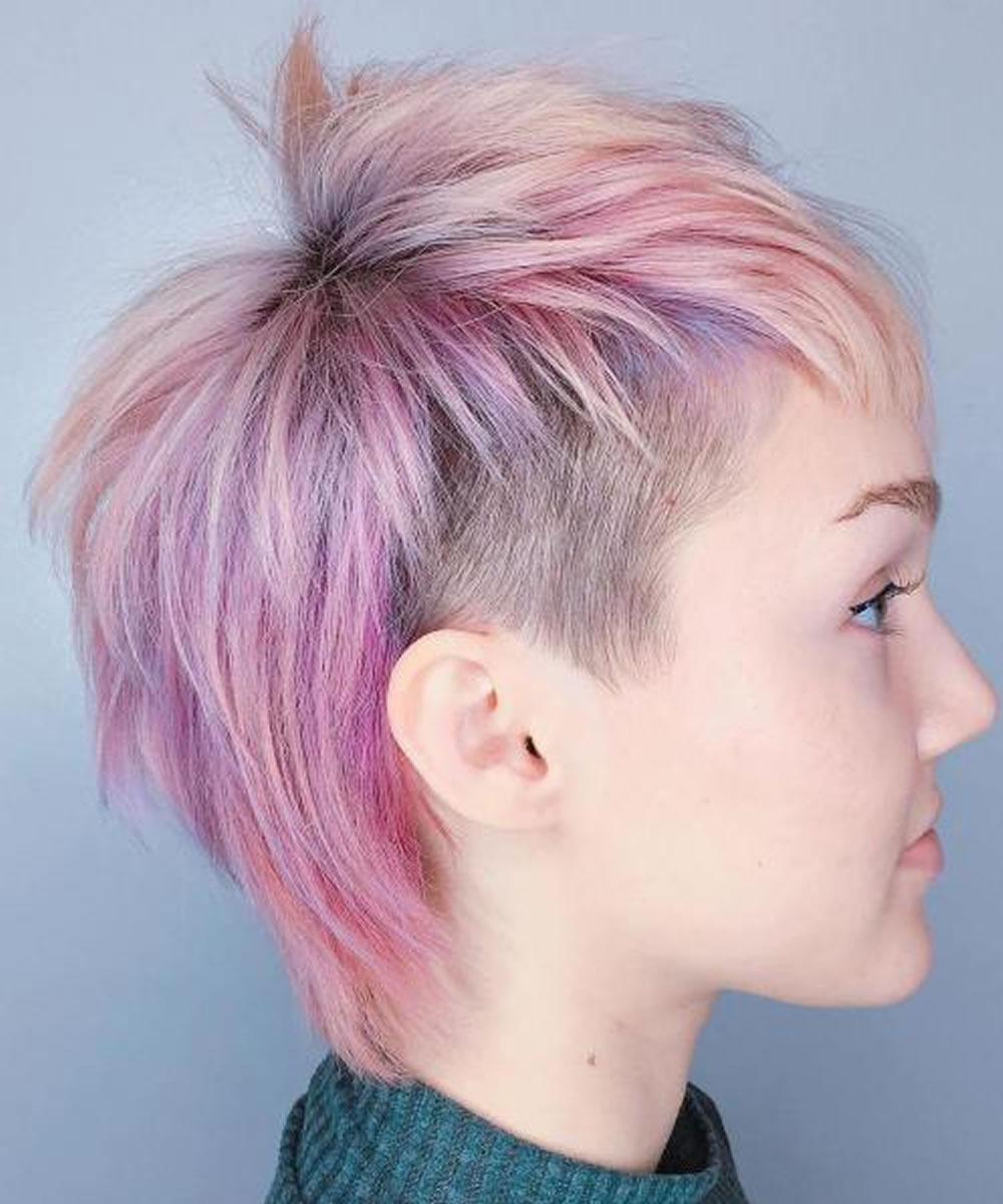Undercut Short Pixie Hairstyles - Undercut Hairstyles 2018
