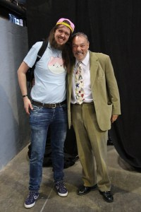 Bert and John Rhys-Davies