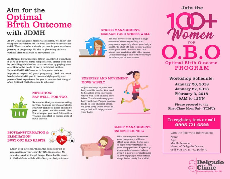 Delgado Clinic OBO program brochure