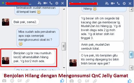testimoni qnc jelly gamat langsung dari para konsumen kami