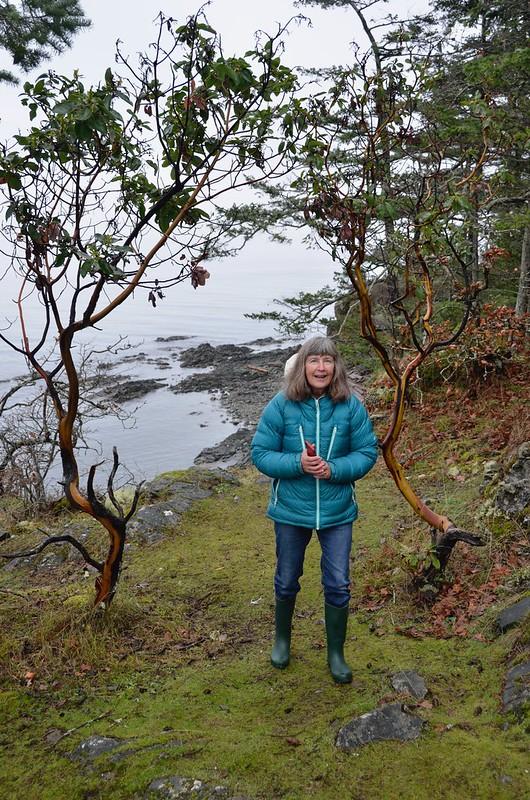 Nanaimo -  Linda at the Park
