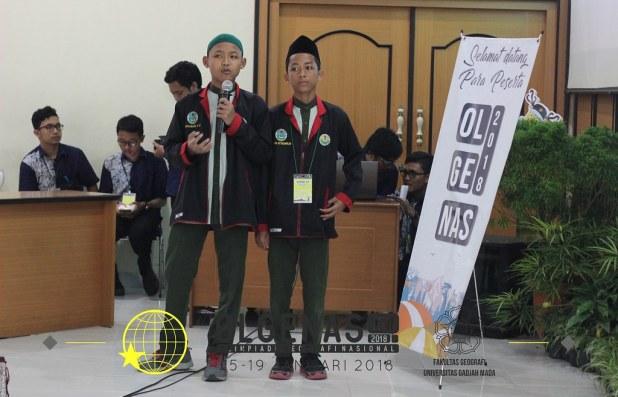 Olimpiade Geografi Nasional (OLGENAS) 2018 SMP Bustanul Makmur