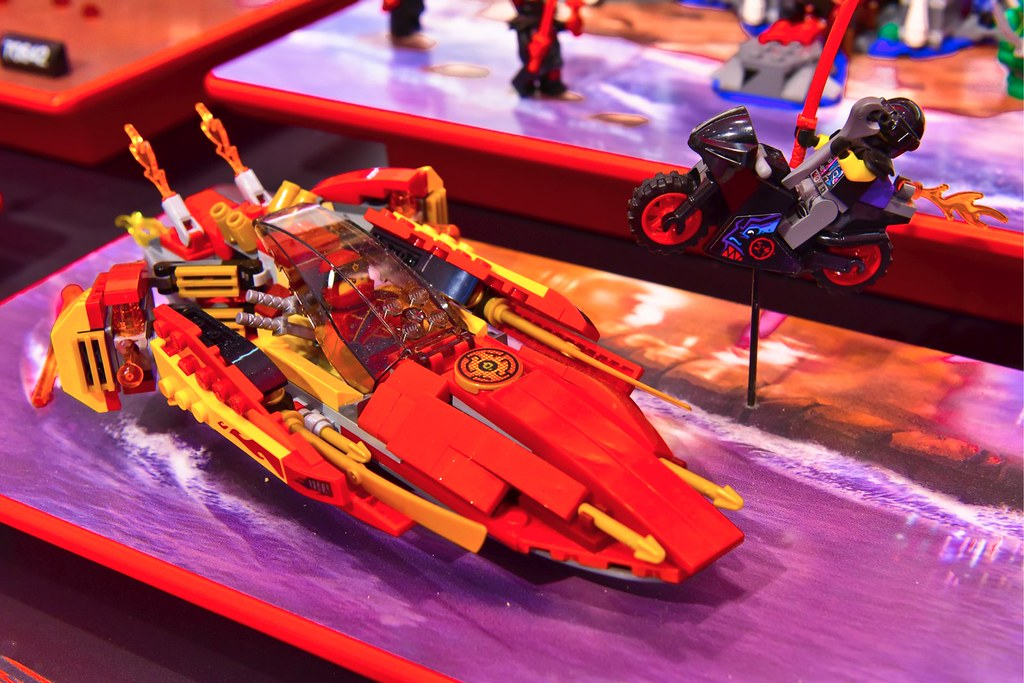 Ninjago Display at Nuremberg Toy Fair