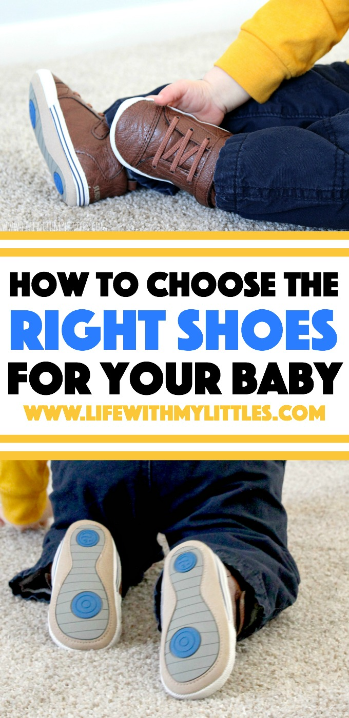 Not sure how to choose the right shoes for your baby? Here are ten tips to make sure you pick some that you and your baby will love!
