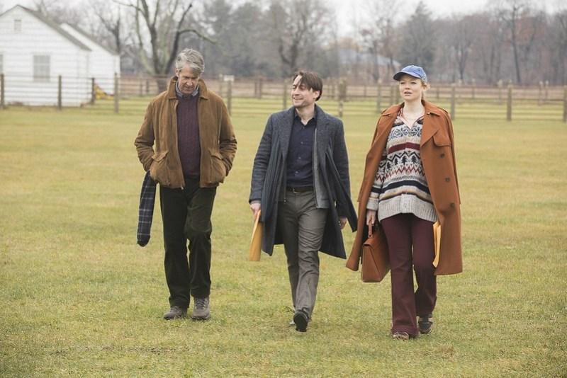 HBO Succession - Alan Ruck as Connor_ Kieran Culkin as Roman_ Sarah Snook as Shiv