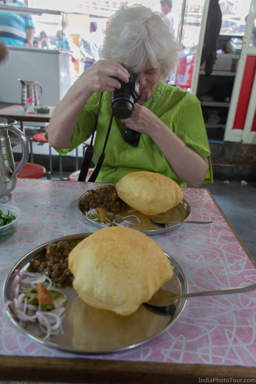 Choley Bhaturey in Khari Baoli, Old Delhi
