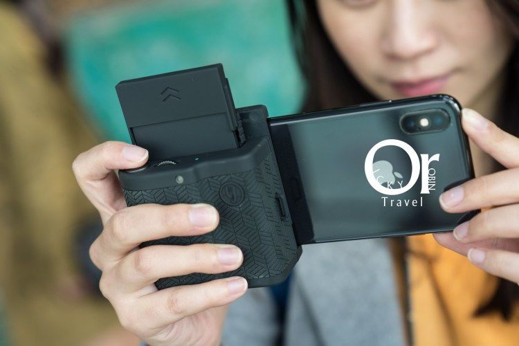 3C開箱|Prynt Pocket – iPhone 用口袋印表機,相機般的握把造型,讓你走到哪都能跟朋友分享照片!