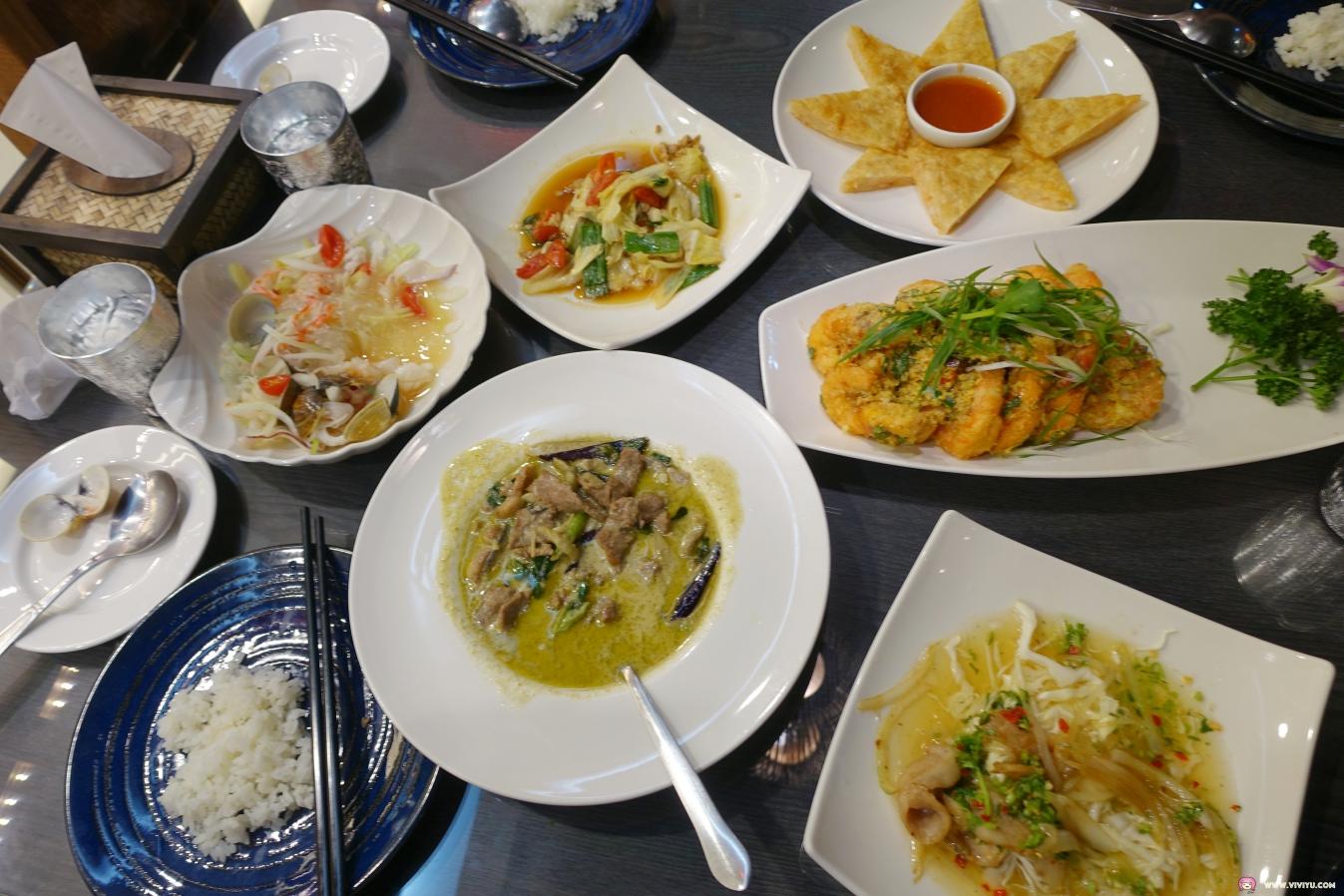 [桃園美食]蘇珂泰泰式料理~JC PARK食尚廣場內的平價泰式料理.交通便利停車方便適合聚餐 @VIVIYU小世界