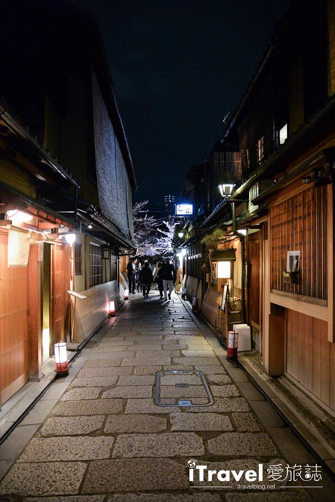京都赏樱景点 祇园白川 (32)
