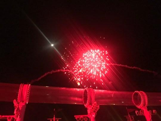 cruise fireworks
