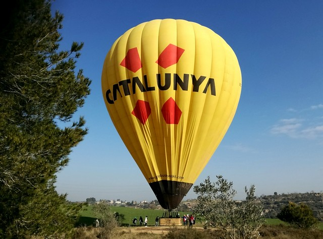 Volar en globo por Cataluña