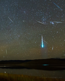 Fireball During the Geminid Meteor Shower
