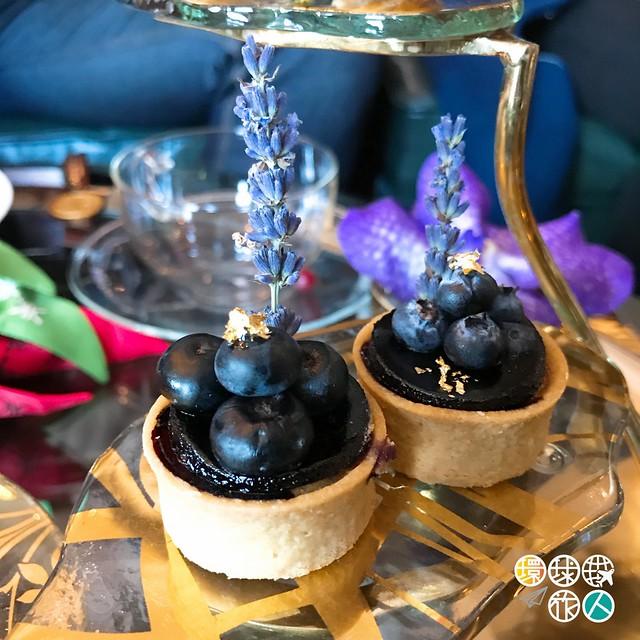 藍莓薰衣草撻