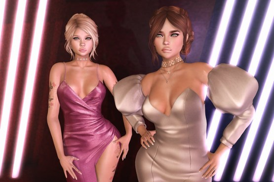 LAQ Scarlet & Rebel Bento Mesh Heads