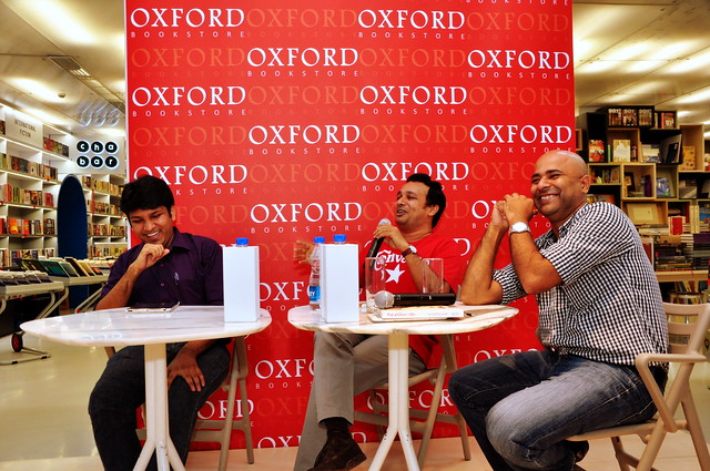 Launch of the Ekkos Clan at Oxford Bookstore