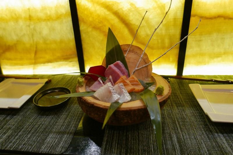 Sashimi-Madai, Inada, Salmon, Chutoro