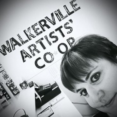 Laurel Storey at Walkerville Artists' Co-op