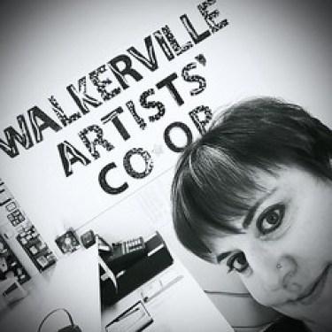 Laurel Storey at Walkerville Artists' Co-op