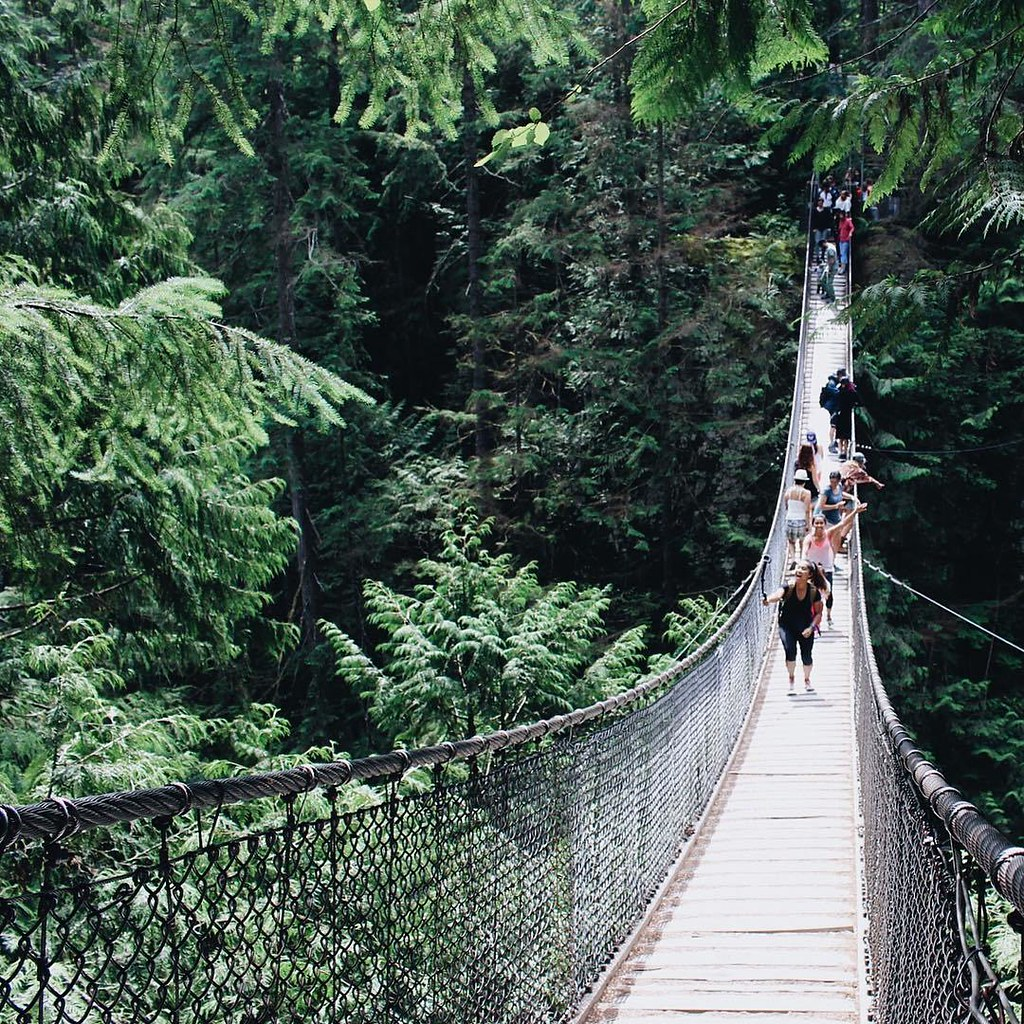 Lynn Canyon Suspension Bridge | RACHEYwrites