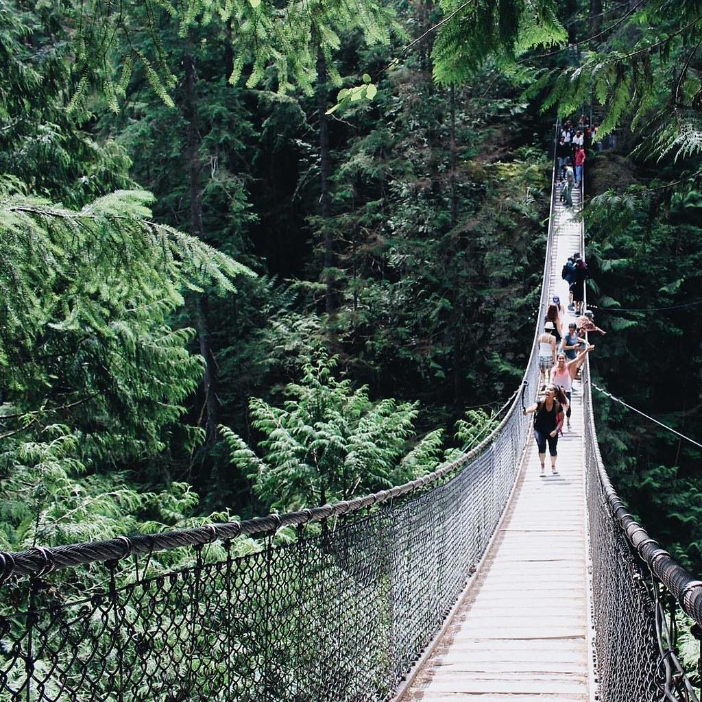 Lynn Canyon Suspension Bridge   RACHEYwrites