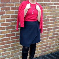 Outfit of the week: Cashmere twinset
